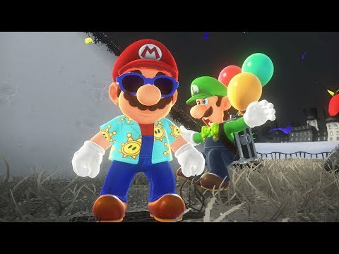 """EASIEST WAY to Cheat The """"Hide It"""" Category in Luigi's Balloon World - Super Mario Odyssey"""
