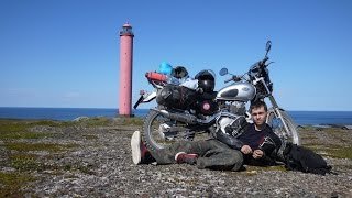 мотопутешествие Honda CL400 Offroad Trip СПб   полуостров Рыбачий   Рыбинск