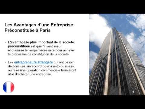 Société Préconstituée à Paris