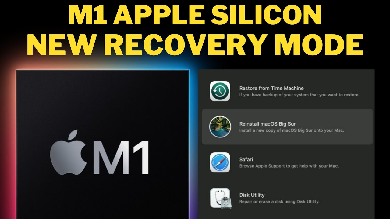 How to boot Apple Mac M1 into Recovery Mode