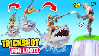 TRICKSHOT Race For LOOT (Fortnite)