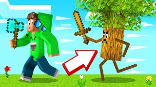 TREES Are ANGRY In MINECRAFT! (Scary)