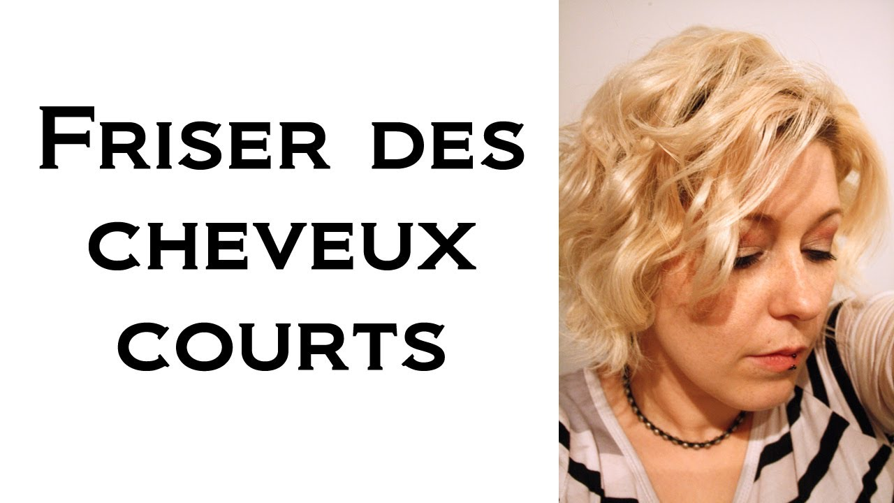 Coupe cheveux courts wave