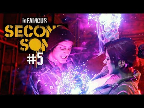 inFAMOUS: Second Son - #5: Pegando a Mulher-Neon!
