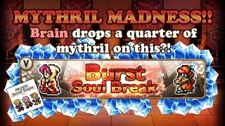 FFRK - Mythril Madness 116 - 100 Mythril Spent on Heir of the Dawn Banner 2 (brain)