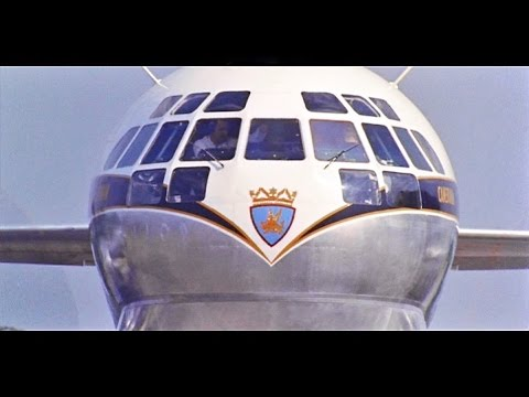 Boeing 377 Stratocruiser HD - Stock Footage