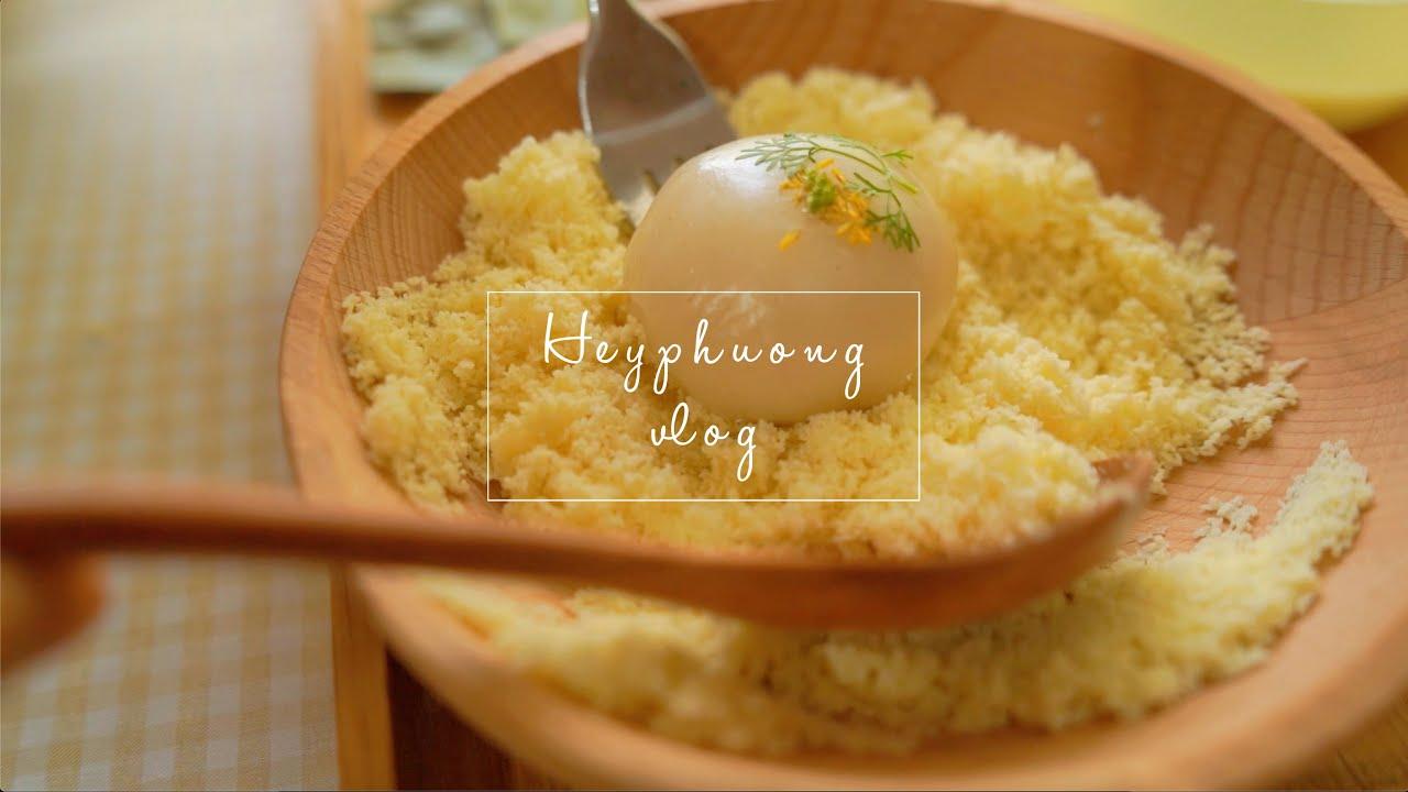 Làm Bánh Dày – Hái Quả Trên Khu Vườn Của Mình | HeyPhuong Vlog