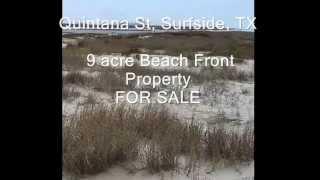 Beach Front Property - Surfside Beach Texas !!
