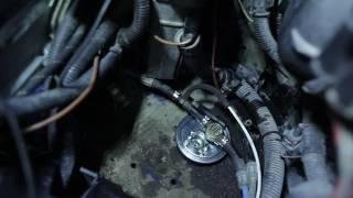 Kā nomainīt VW TRANSPORTER T4 Degvielas filtrs [PAMĀCĪBA]