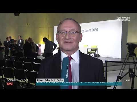 Klimakabinett: Erhard Scherfer