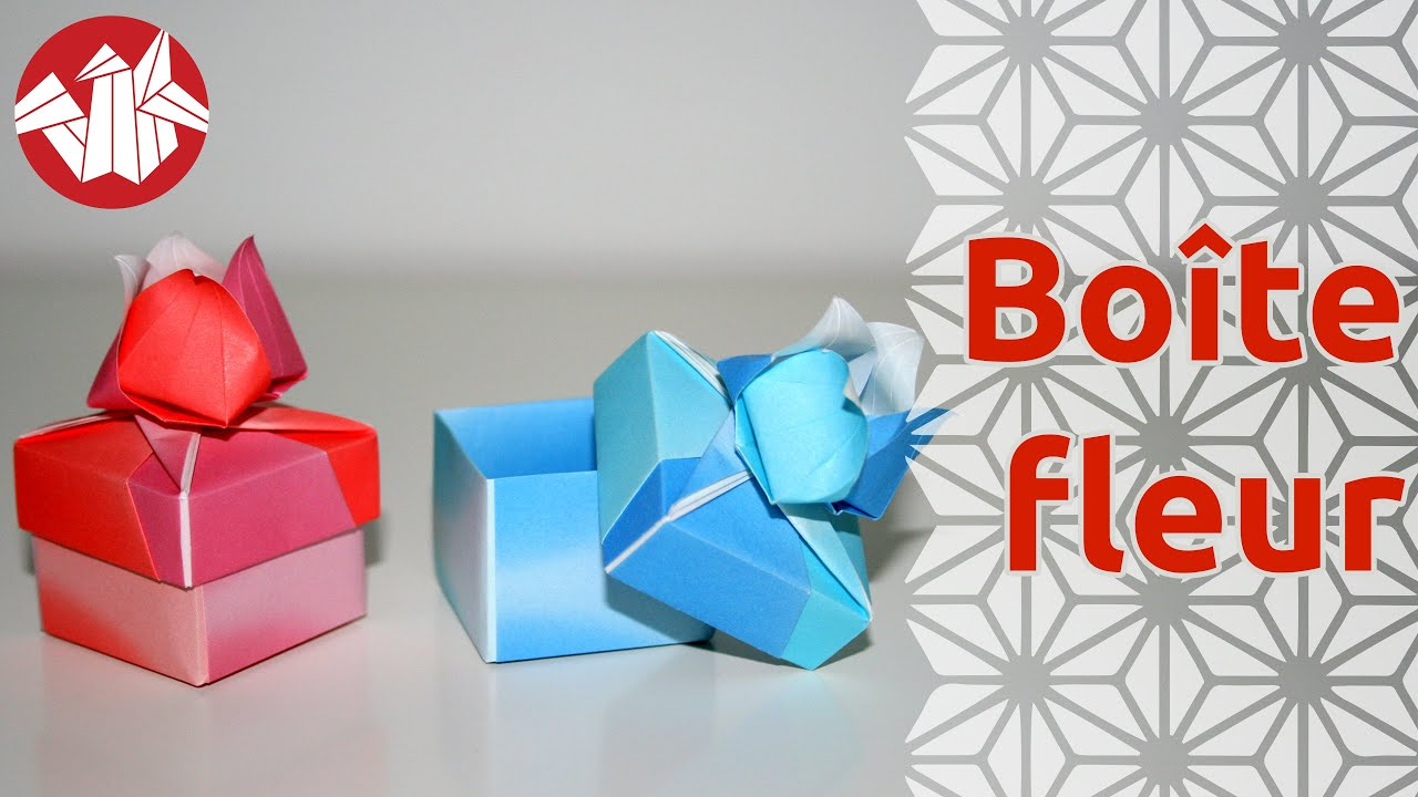 origami boite fleur de tomoko fuse flower box senbazuru youtube. Black Bedroom Furniture Sets. Home Design Ideas