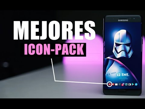Los Mejores Icons Packs Para Android 2017