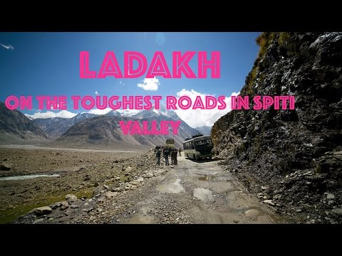 A Travel Video on  the toughest & Dangerous Roads in Spiti Valley   Travel-vlog #4   October 2016