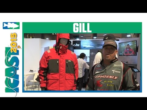 Gill FG2 Tournament Grade Jacket With Elite Series Pro Russ Lane | ICAST 2015