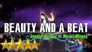 vuclip 🌟 Beauty And The Beast - Justin Bieber ft  Nicki Minaj | Just Dance 4 | Best Dance Music 🌟