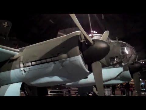 German JU-88 at Air Force Museum