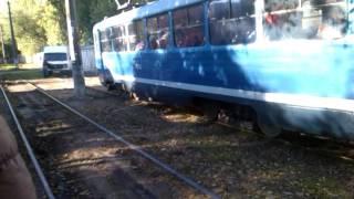 ДТП. Ужасы на трамвайных путях. Одесса Украина