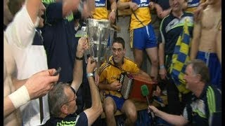 Music in the Clare dressing room after the All-Ireland final | The Sunday Game