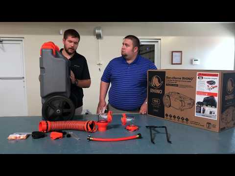 Introducing The Toughest Tote Tank Camco Rhino Tough Youtube