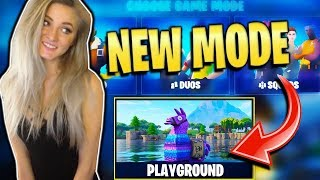 PLAYGROUND MODE RETURNS TODAY! 910+ SOLO WINS. 14000 KILLS. RARE SKIN GAMEPLAY!