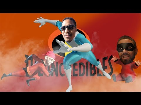 FROZONE GOES TO THE INCREDIBLES PREMIERE
