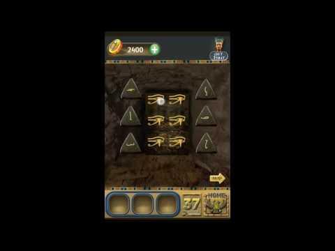 100 Doors Pyramid Escape the Room Level 37 Walkthrough
