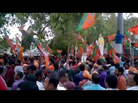 Election 2016 Kalasakkottu at Nedumangad Town