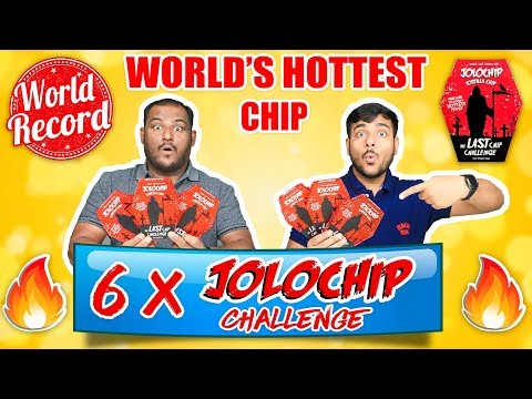 WORLD'S HOTTEST JOLO CHIP EATING CHALLENGE | Spiciest Chip | Brother Vs Brother | Viwa Brothers