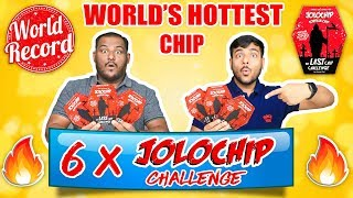WORLD\'S HOTTEST JOLO CHIP EATING CHALLENGE | Spiciest Chip | Brother Vs Brother | Viwa Brothers