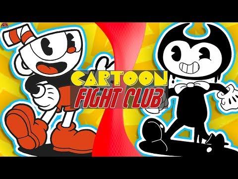 CUPHEAD vs BENDY! (Cuphead vs Bendy and The Ink Machine) (Cuphead Animation) CARTOON FIGHT CLUB