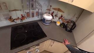 Обзор Кухни с фасадами ваниль глянец