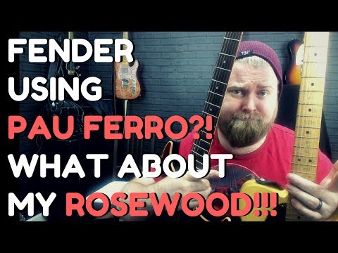 Fender Stop Using Rosewood? Isn't Pau Ferro Rubbish? Guitar Player Logic