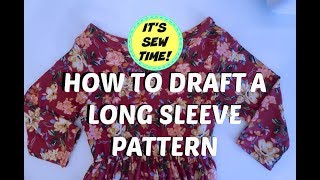 HOWTO DIY  LONG SLEEVE PATTERN