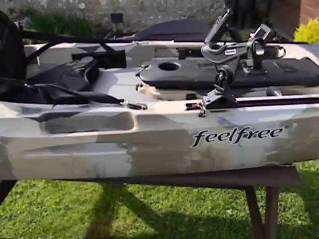 Moken 12.5 fishing kayak