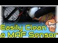 How to Clean a Mass Airflow Sensor with MAF Cleaner • Cars Simplified