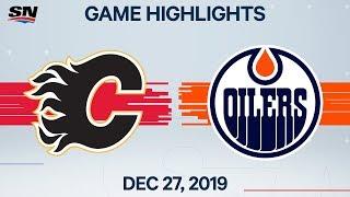 NHL Highlights   Flames vs. Oilers – Dec. 27, 2019
