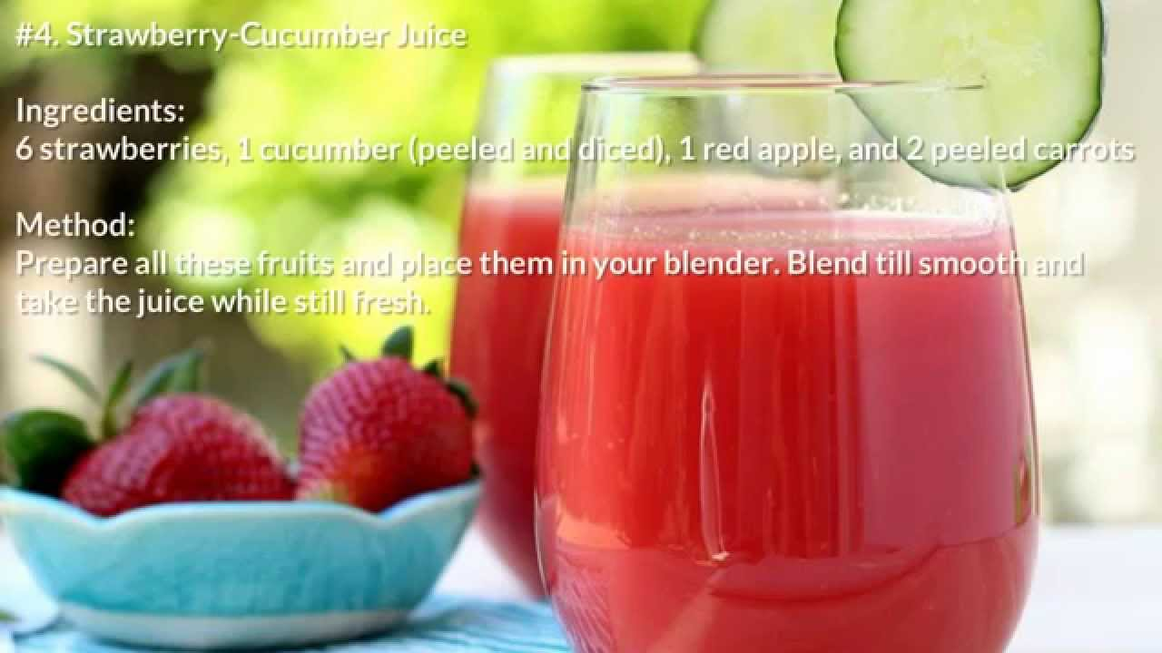 belly fat burning juice recipes