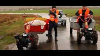 Top Gear (Топ Гир) гонки по русски Чувашия на мотоблоках / Top Gear on village
