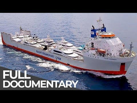 Giant Luxury Shuttle Service for Superyachts   Mega Transports   Free Documentary