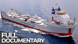 Giant Luxury Shuttle Service for Superyachts | Mega Transports | Free Documentary