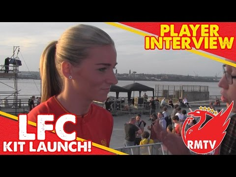 Chris Talks To LFC Ladies Captain; Gemma Bonner!  | Player Interview