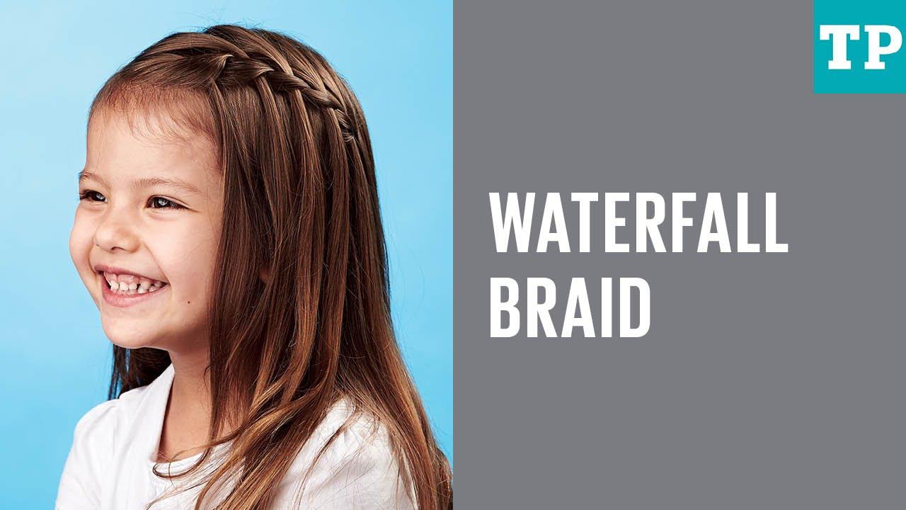 Kids' Hair: How To Do A Waterfall Braid
