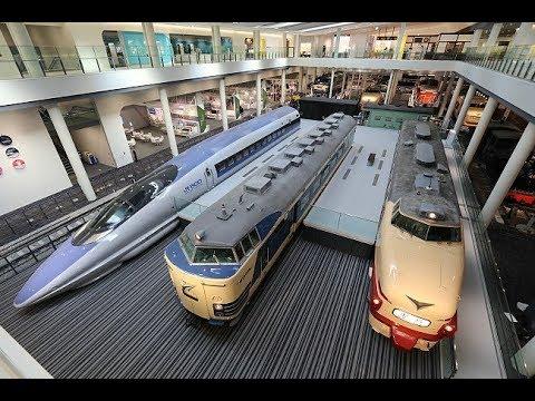 Япония  🇯🇵 Музей железных дорог в Киото. Синкансэн 500 серии / Japan - Kyoto Railway Museum JR Part1
