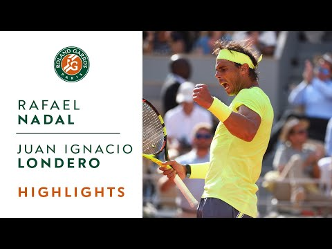Rafael Nadal vs Juan Ignacio Londero - Round 4 Highlights | Roland Garros 2019