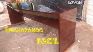 REVESTIR O ENCHAPAR Aglomerados FACIL - Luis Lovon