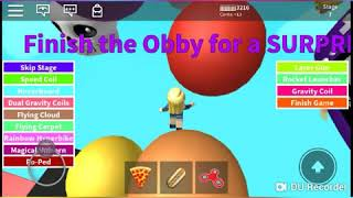 Playing Roblox (sponge Bob Escape)