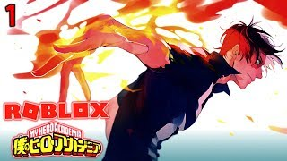 Roblox My Hero Academia - HELL FLAME QUIRK! EP 1 (Roblox My Hero Academia RPG Online)