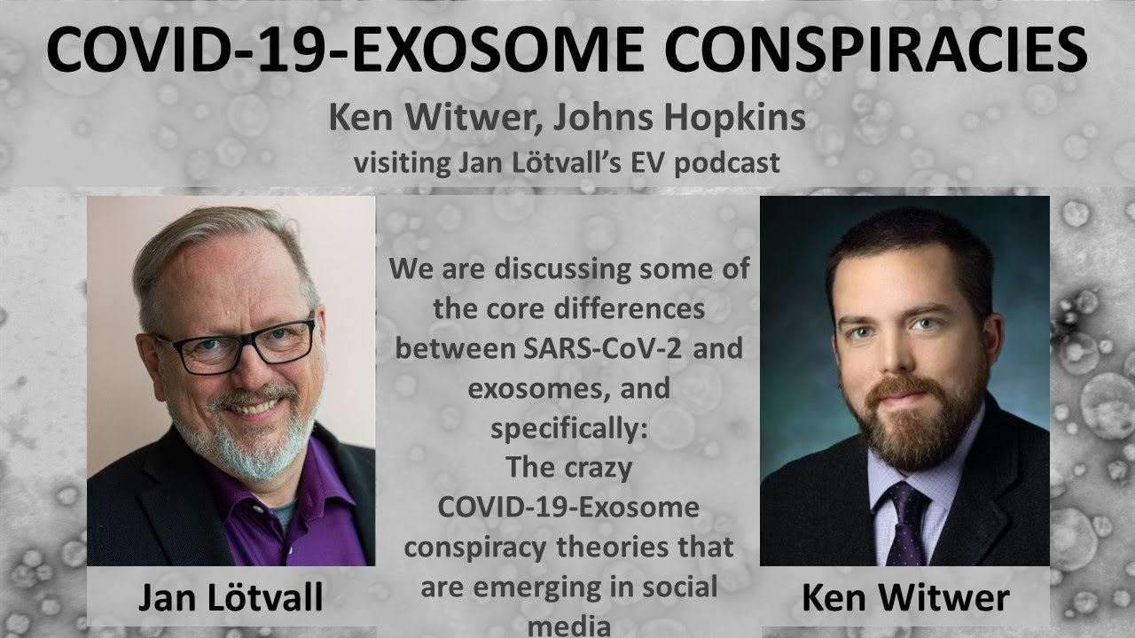 Conspiracy theories about exosomes and COVID-19. Jan and Ken ...