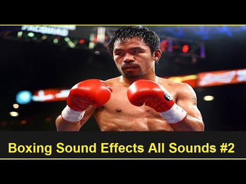 Boxing Sound Effects All Sounds #2
