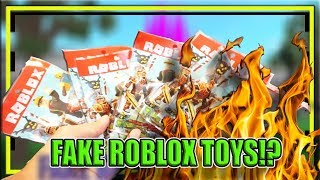 🔥 OPENING FAKE ROBLOX TOYS: BEWARE OF BLIND BAG IMITATIONS TRISTAN CREATIVE